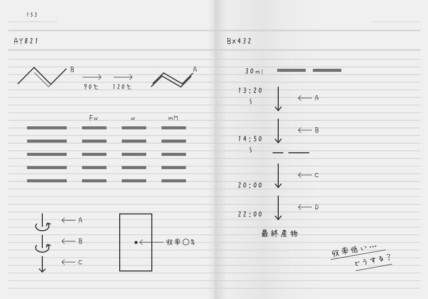 実験ノート(Aさん)